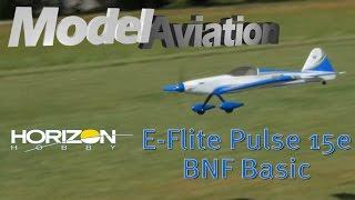 horizon hobby e flite pulse 15e bnf basic model aviation