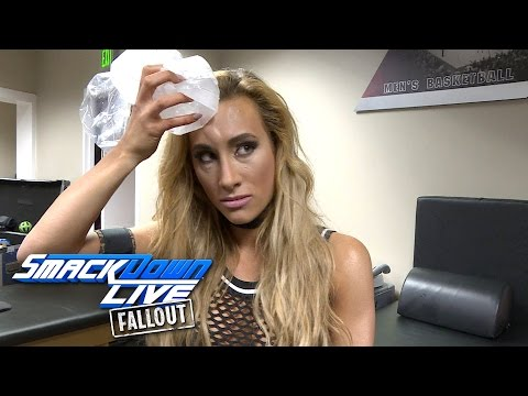 Carmella comes out of Nikki Bella's attack ice cold: SmackDown LIVE Fallout, Nov. 29, 2016
