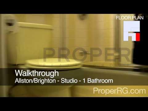 Boston Apartment For Rent - Commonwealth Ave. in Allston/Brighton - Studio