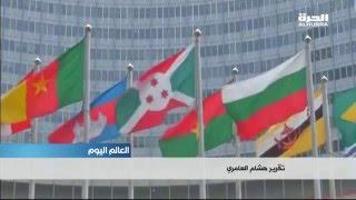 """روحاني يقول إن """"فصلا جديدا"""" في العلاقات الإيرانية مع العالم بدأ بعد دخول الاتفاق النووي حيز التنفيذ"""