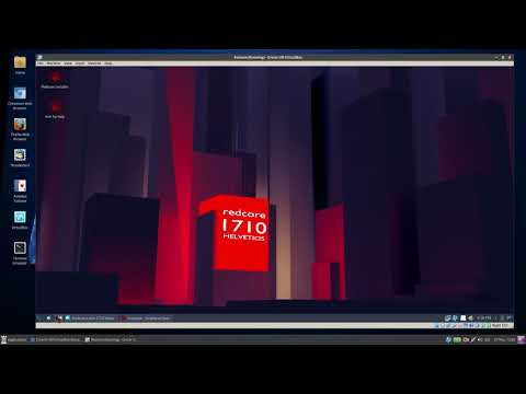 Look @ Redcore Linux 1710 - Gentoo For The Masses