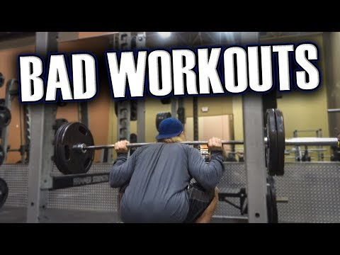 Dealing with Bad Days at the Gym