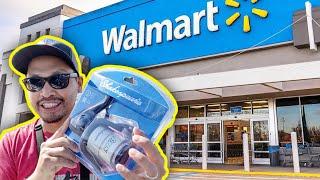 $17 Walmart Fishing Reel catches BIG Striped Bass!!