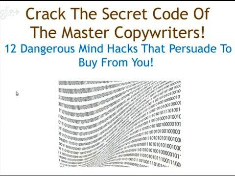 CRACK THE SECRET CODE Of The Master Copywriters