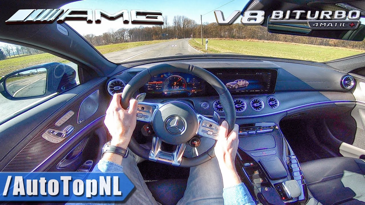 Download Mercedes AMG GT 63 S 4Door 639HP 4.0 V8 BiTurbo POV Test Drive by AutoTopNL