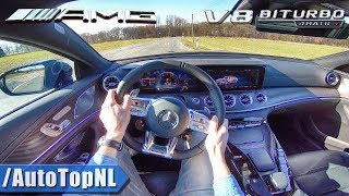 Mercedes AMG GT 63 S 4Door 639HP 4.0 V8 BiTurbo POV Test Drive by AutoTopNL
