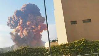 Massive Explosion Rocks Beirut Port