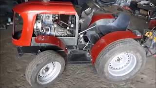 Самодельный Минитрактор С Двигателем Ока