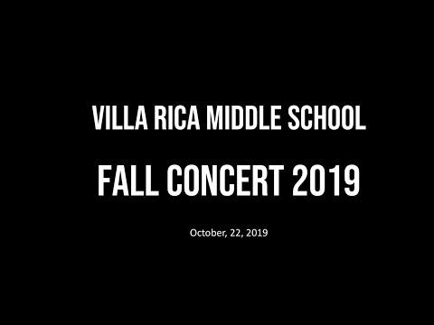 Villa Rica Middle School Fall Concert