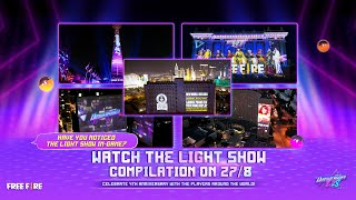 Free Fire 4nniversary - World's Largest Projected Video Game Display | Garena Free Fire screenshot 1