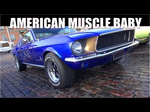 Another Epic Muscle Car & Classics Meet! - Helsinki Cruising Night 9/2017