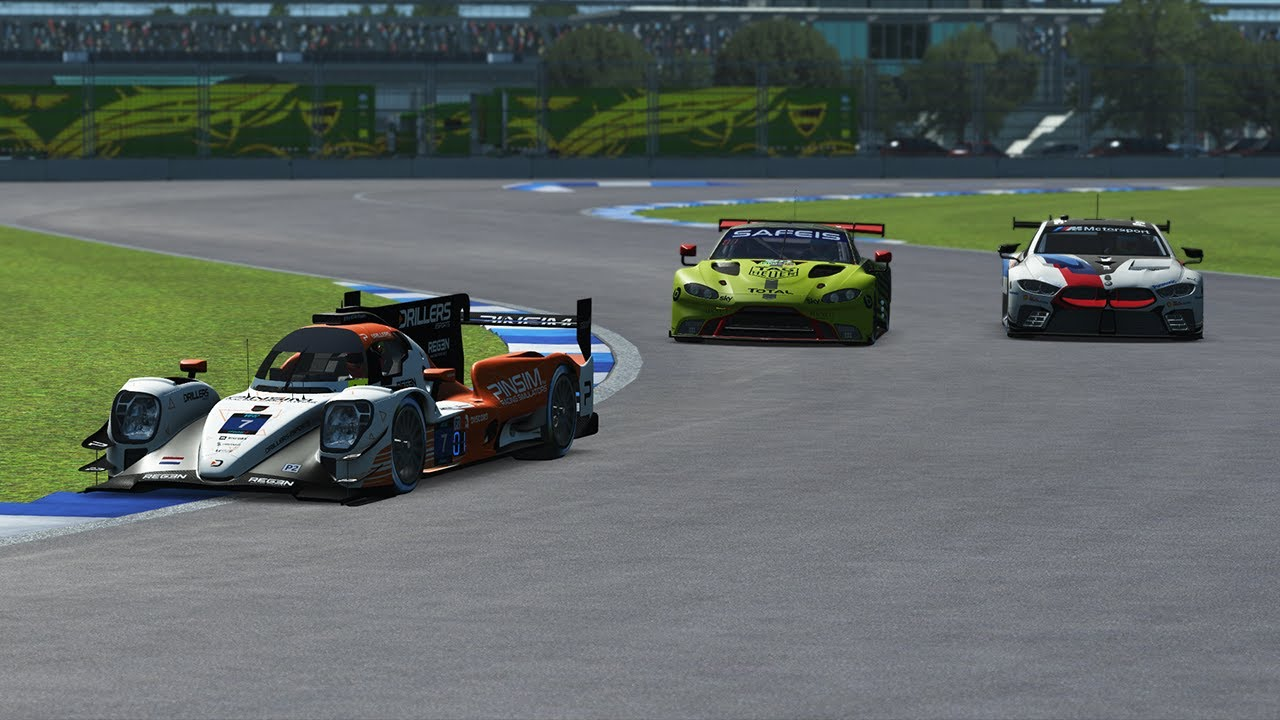 rFactor 2 | RD Racing Club | DPi, LMP2 & GTE Multiclass Indianapolis