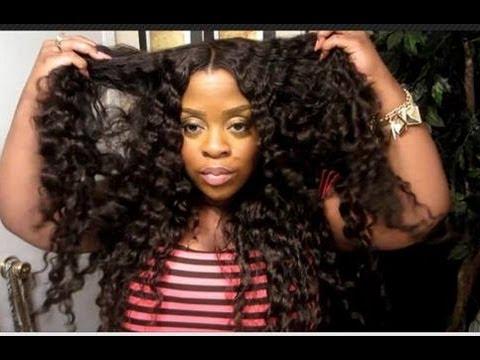 karaezy kouture deep waves and curls brazilian hair youtube