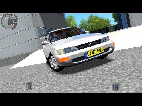 City Car Driving 1.4.1 Toyota Corolla XE100 1995 [Logitech G27]