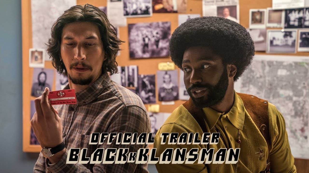 BLACKkKLANSMAN - Official Trailer [HD] - In Theaters August 10 image