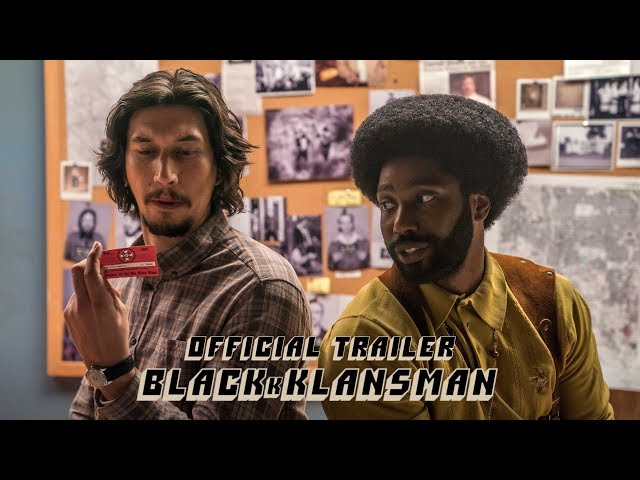 A Spike Lee joint. From producer Jordan Peele. Based on some fo' real, fo' real sh*t. Watch the #BlacKkKlansman trailer now - in theaters August 10.