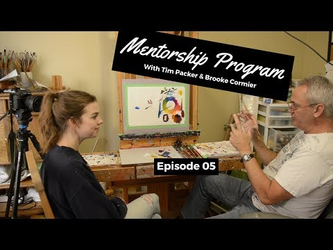 Introduction to Water Soluble Oils - Tim Packer Mentorship Program with Brooke Cormier: Episode 5
