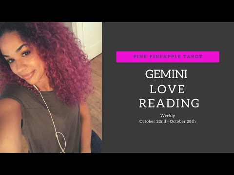 "GEMINI OCTOBER 22-28 ""DISTANCE MAKES THE HEART GROW FONDER💕"" WEEKLY LOVE READING 💕🍍💕"