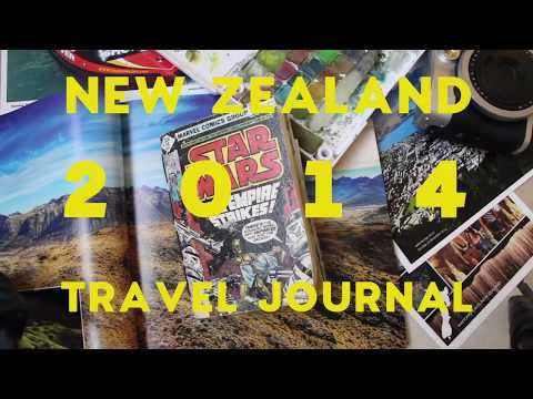 NEW ZEALAND TRAVEL JOURNAL (2014) - Flip Through