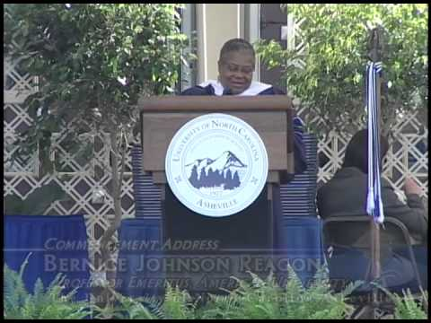 Bernice Johnson Reagon Commencement Address 2010