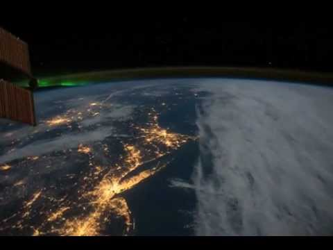 Northeastern United States at Night