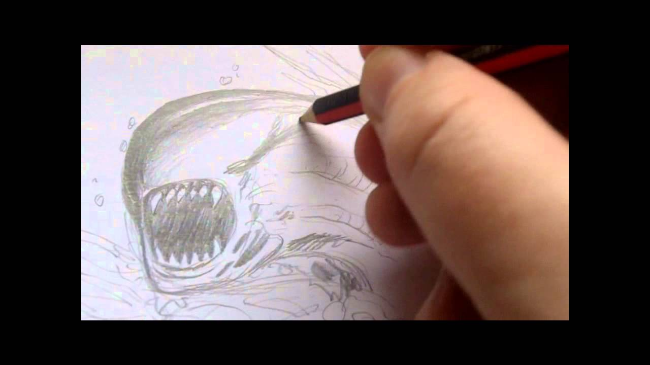 Watch Me Draw Alien Chestburster Youtube