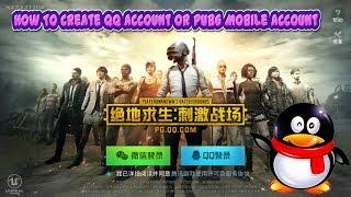 Comment Créer qq Compte Ou PUBG Compte Mobile