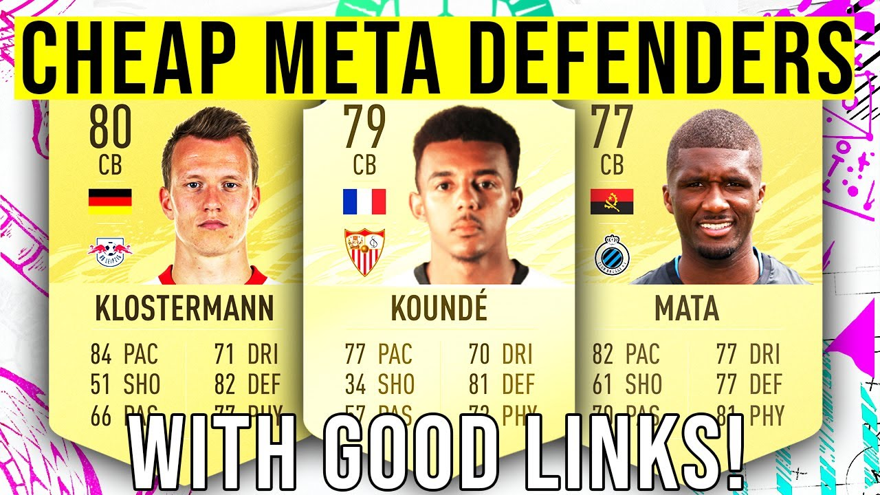 BEST Cheap META Defenders With Good Links For Your Starter Teams!