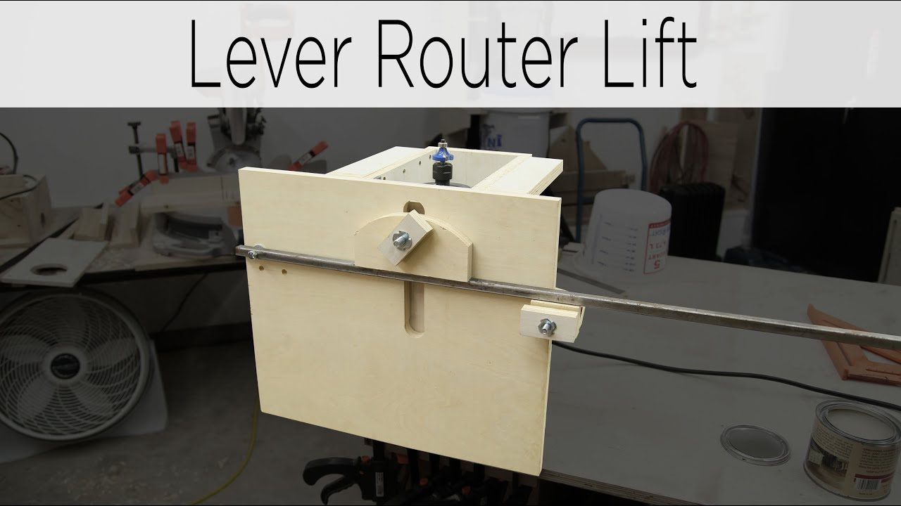 Quick action lever router lift 187 youtube greentooth Gallery