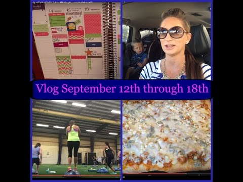 Vlog Septmeber 12th through 18th LisaSz09