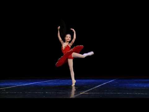 Анастасия Севенард. 7 лет. Вариация Китри из балета Дон Кихот.