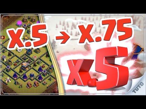 GAGNEZ FACILEMENT VOS GDC : x.5 PARFAIT / HDV 7.5 / HDV 8.5 / HDV 9.5 / HDV 10.5 - Clash of Clans