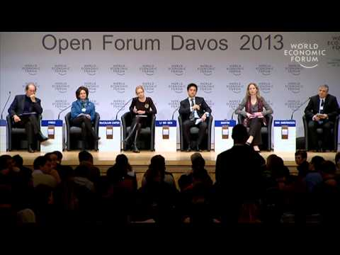 Davos 2013: Open Forum: War against Obesity -- Fat Invoice?