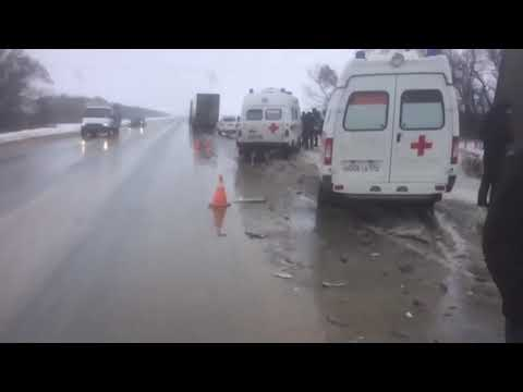 5 человек погибли в ДТП на трассе «Каспий» в Волгоградской области