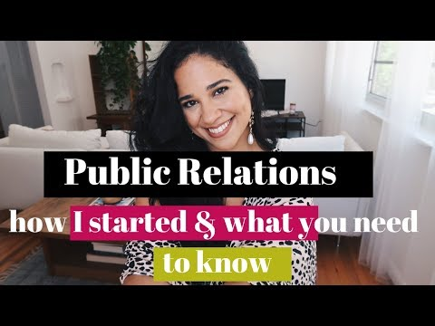 How To Get A PR Job In 2019 | Salary, Influencers, My Story