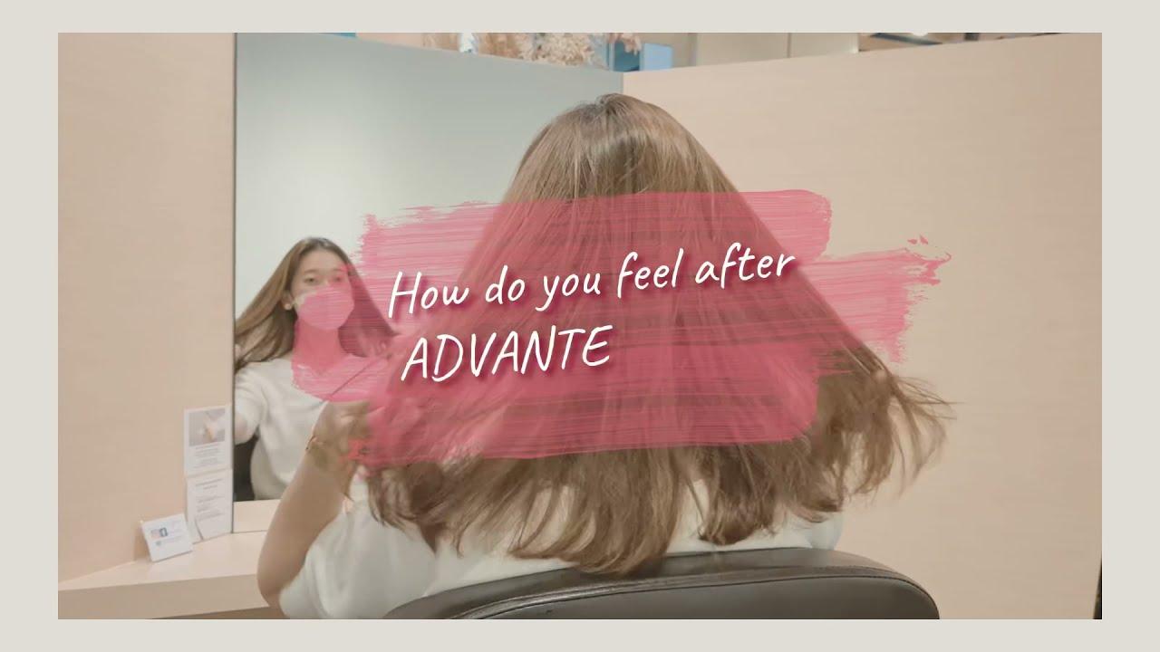 Advante Treatment Menu