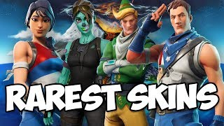 Top 5 RAREST SKINS, EMOTES, and PICKAXES in FORTNITE (Ghoul Trooper, CODE ELF, and MORE)