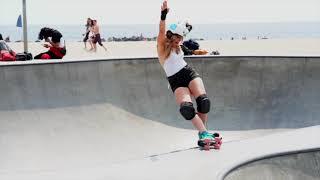 ROCK 'N ROLL: Rollerskating at the Venice Skate Park