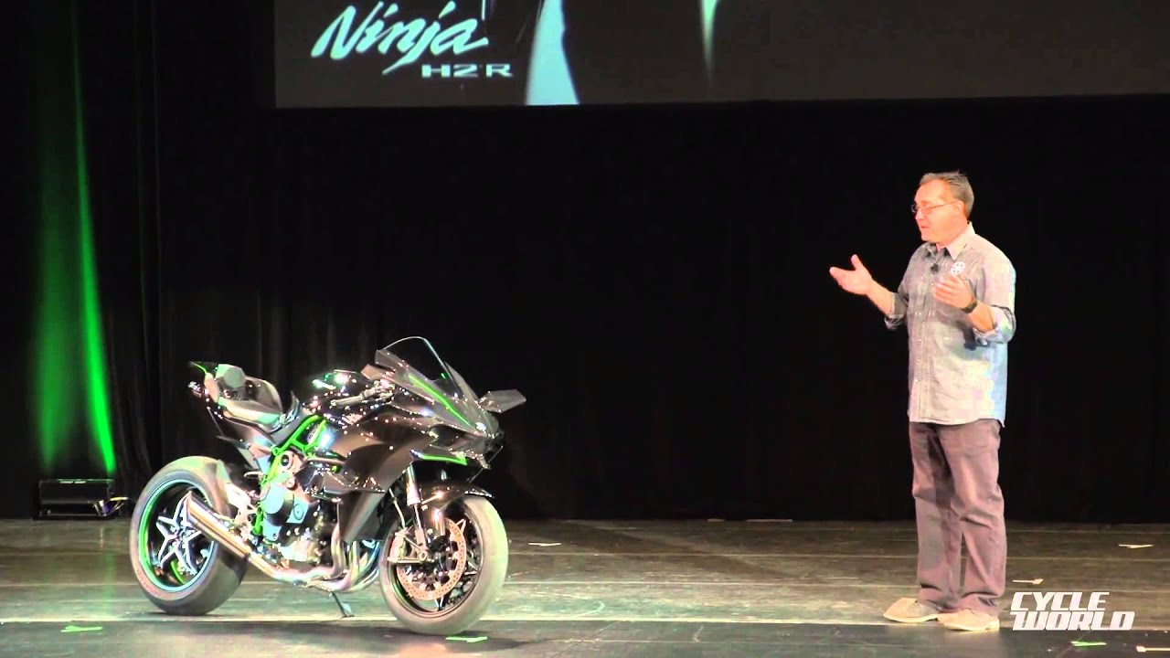 Kawasaki Ninja H2R Superbike Presentation Video From AIMExpo 2014