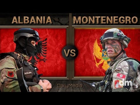 Albania vs Montenegro - Army/Military Power Comparison 2018