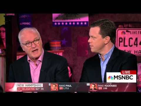 Mike Barnicle on Hillary Clinton's loss to Bernie Sanders in New Hampshire (10 February 2016)