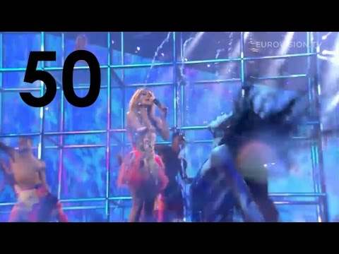 50 AMAZING MOMENTS from Eurovision Song Contest