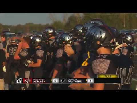 High School Football  Mississinewa vs Eastbrook