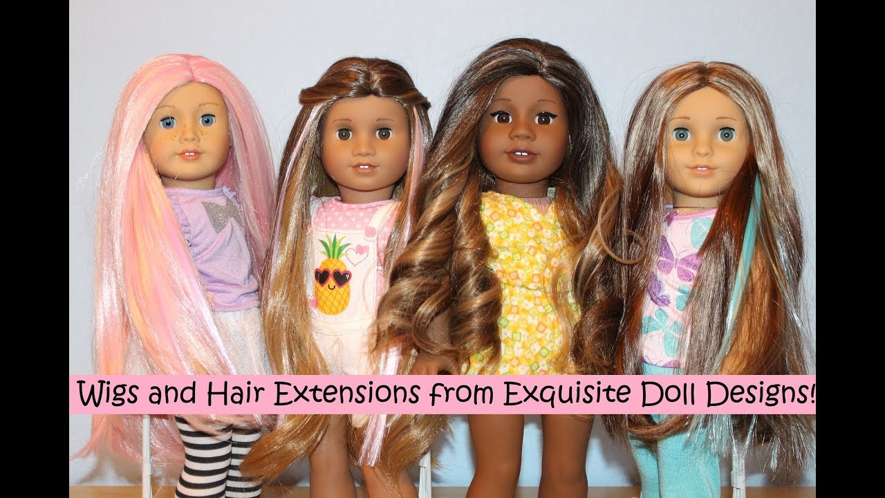Wigs And Hair Extensions From Exquisite Doll Designs Youtube