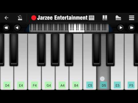 [Slow Version] Janam Janam (Dilwale) - Mobile Perfect Piano Tutorial