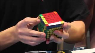 7x7 rubik s cube former world record average 2 52 09