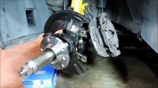 BMW E36 3 Series Front Wheel Hub Bearing Replacement