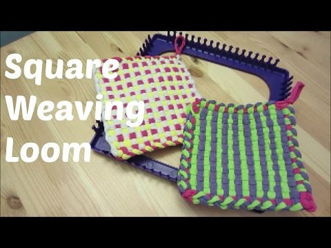 Square Weaving Loom