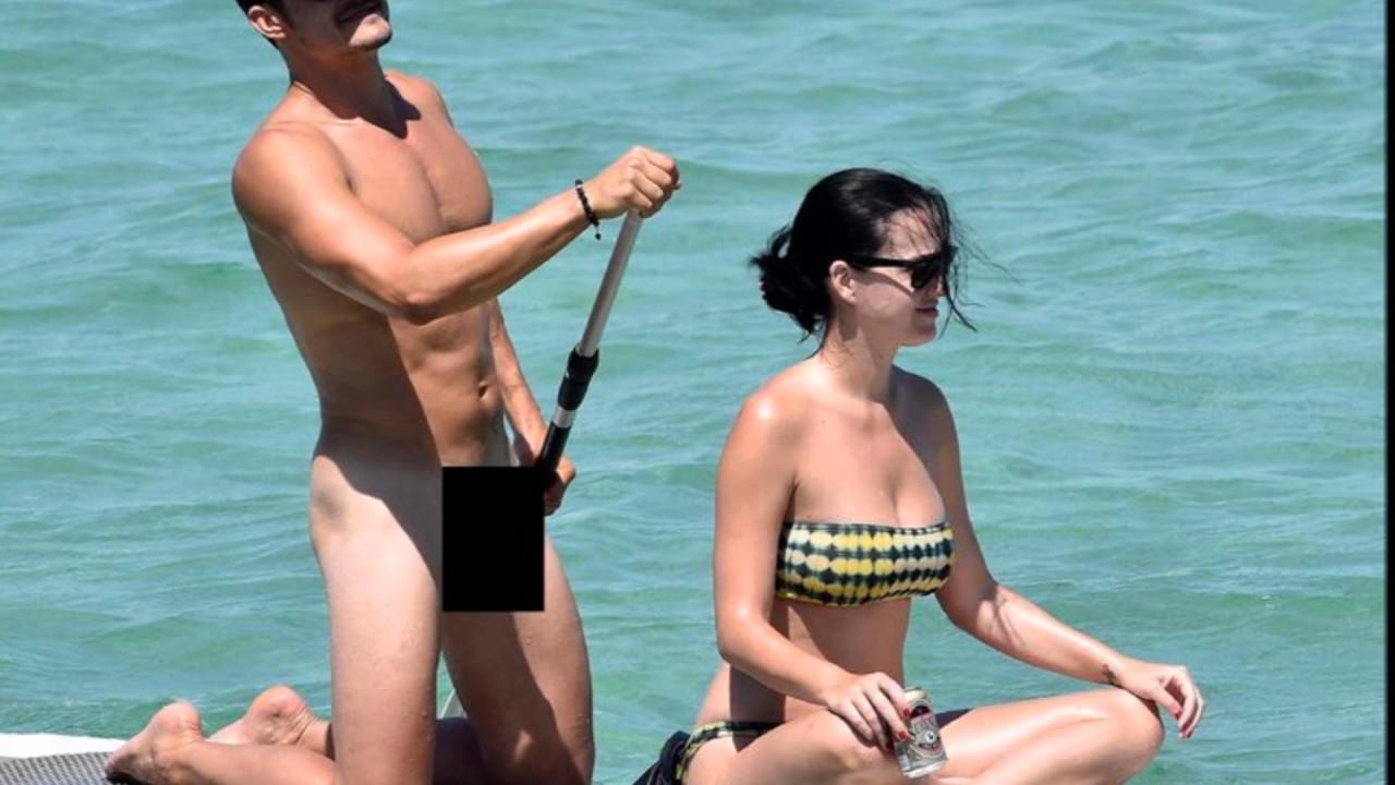 Katy Perry Boyfriend Orlando Bloom Paddle Boarding -9869