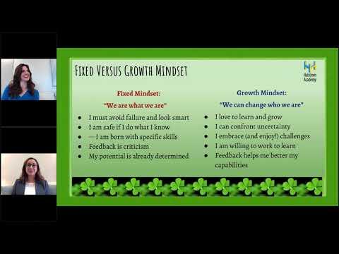 Halstrom Academy Parent Education Webinar: Grit & Determination